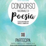 concorso poesia seregno 2019