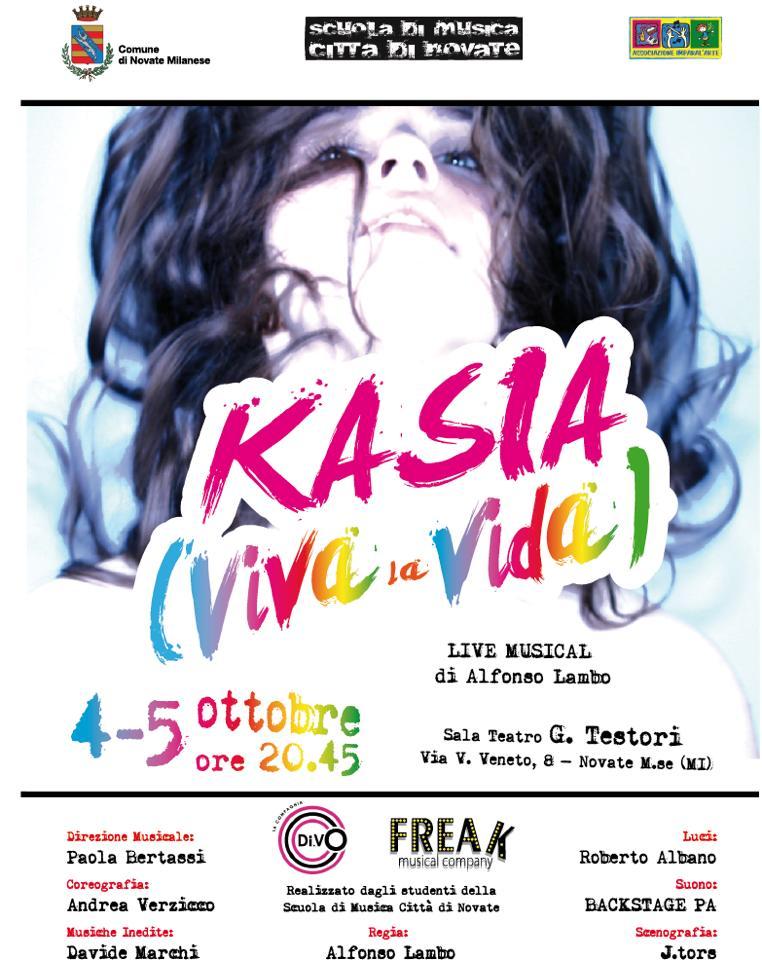 Scuola Di Musica Novate Milanese.Kasia Viva La Vida A Live Life Musical Bmradio It